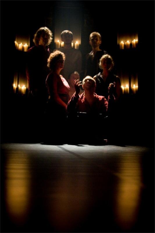 BS mh 04: Macbeth, Teatr Pieśń Kozła, 2009 © Bartosz Sowa
