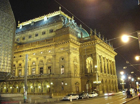 The Old National Theatre in Budapest (demolished in 1965)