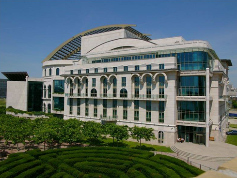 The New National Theatre in Budapest (built in 2001)