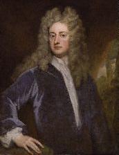 Joseph Addison, the Kit-cat portrait, circa 1703–1712, by Godfrey Kneller