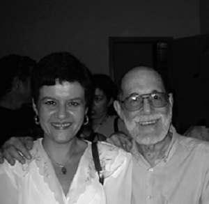 Vivian Martinez Tabares and Abelardo Estorino