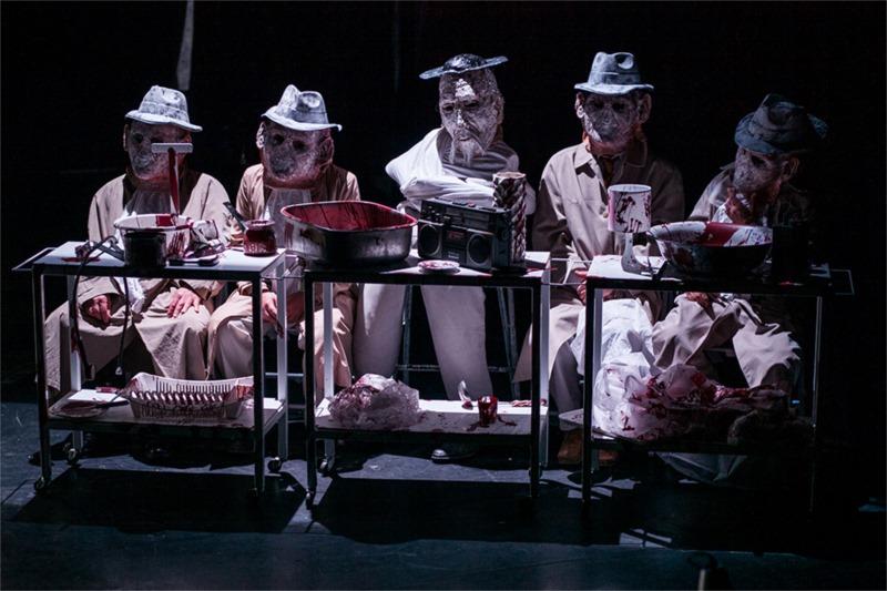 "From ""Paranoa Querulans"", Part 2 of SkRAT Theatre, Bratislava's production of ""Interior of the Interior"". Photo by Gabriela Zigova"