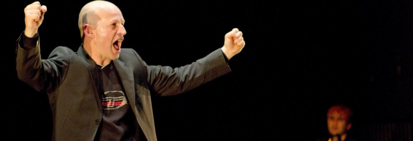 L'acteur de « Touche » Fabio Alessandrini