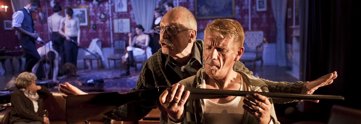"David Jarab's production of Elfriede Jelinek's ""Rechnitz: the Exterminating Angel"""