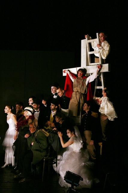 The Apocalypse by Shakespeare. Macbeth, directed by Janusz Wiśniewski, National Theatre Craiova, Romania
