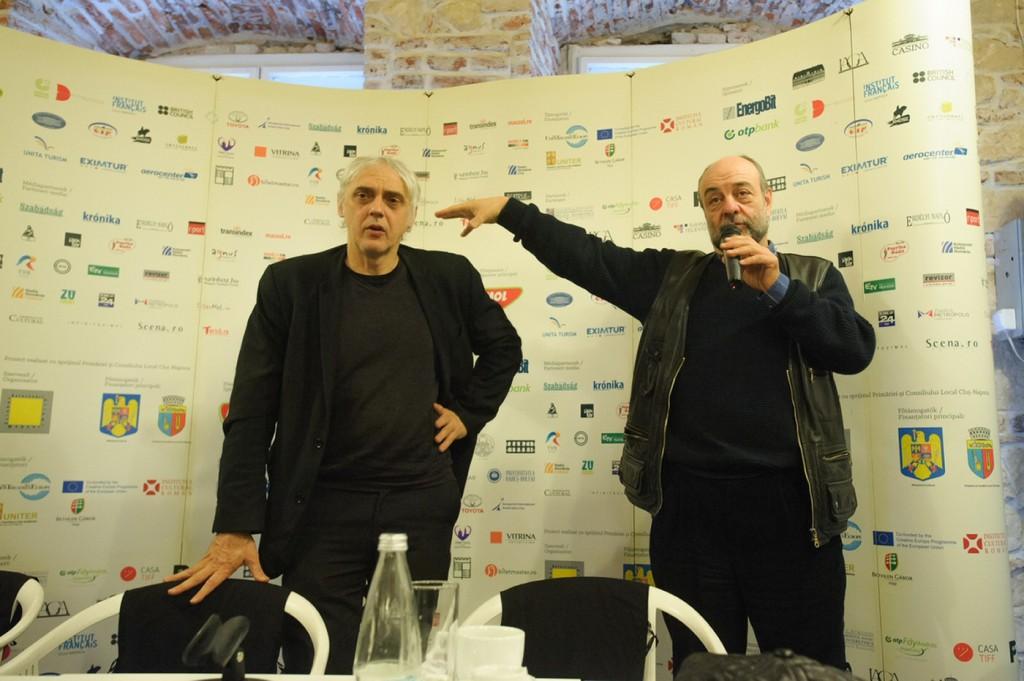 Josef Nadj and Tompa Gábor © Biró István