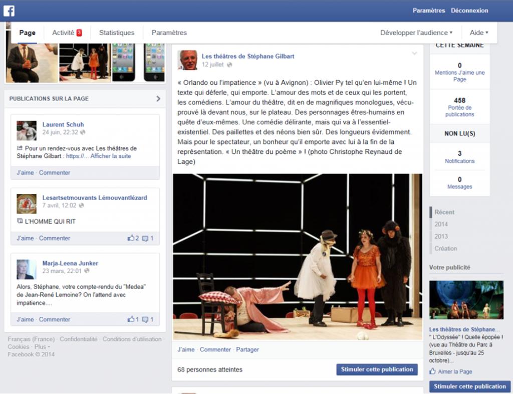 Facebook, une critique en quelques mots