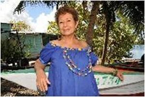 Michèle Montantin Photo: Hélène Valenzuela, Guadeloupe 2015