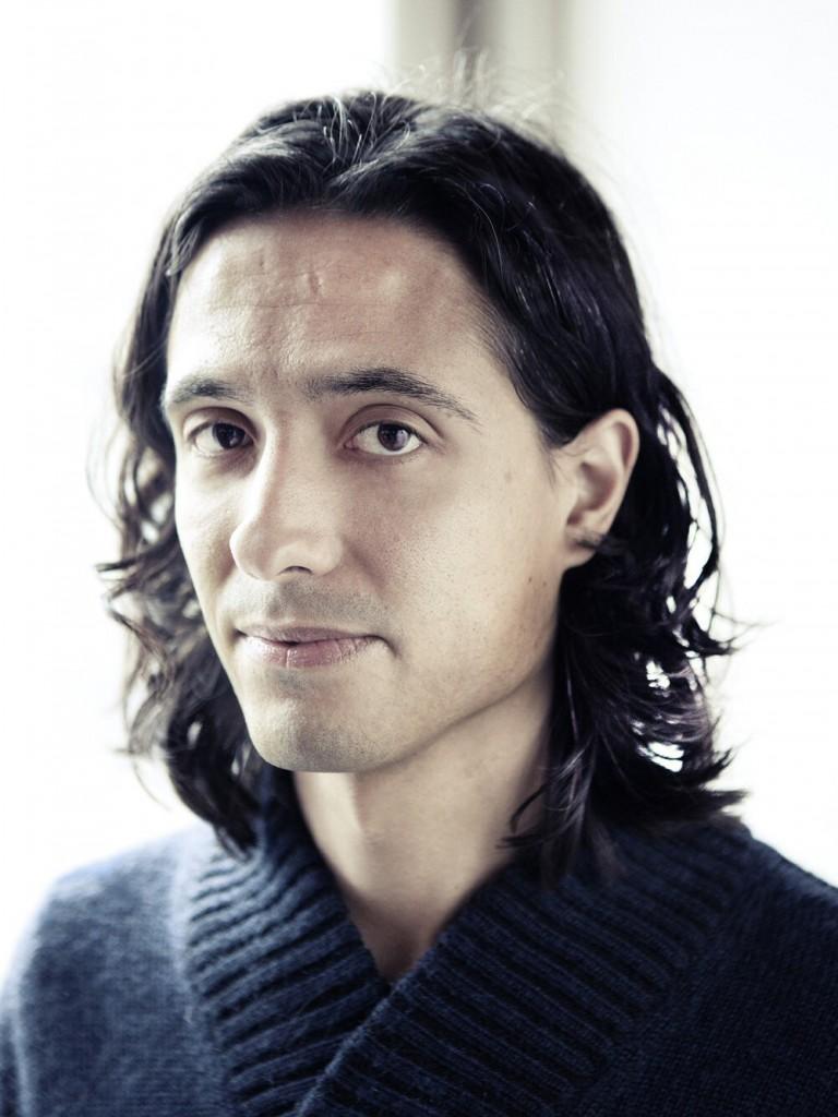 Photo of the Swedish-Tunisian playwright Jonas Hassen Khemiri