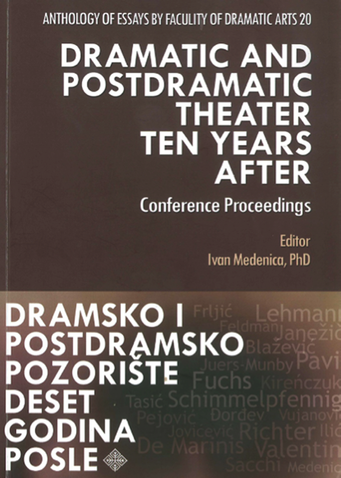 Postdramatic Book