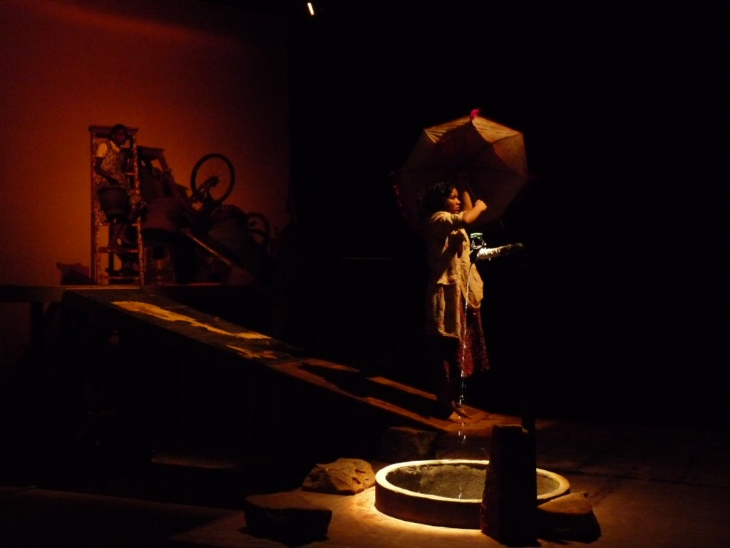 Water Station, Sankar Venkateswaran, Theatre Roots and Wings, Thrissur 2011, venue unknown