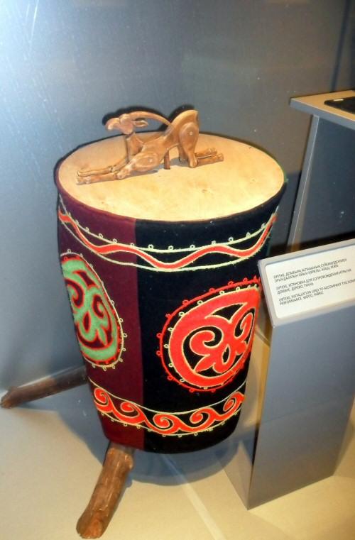 L'installation pour l'Orteke. © Musée central d'État du Kazakhstan.