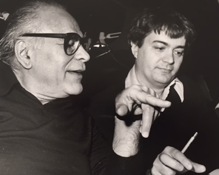 Director Liviu Ciulei and dramaturg Mark Bly at the Guthrie Theater's Twelfth Night rehearsal (1984). Photo: courtesy of the Guthrie Theater