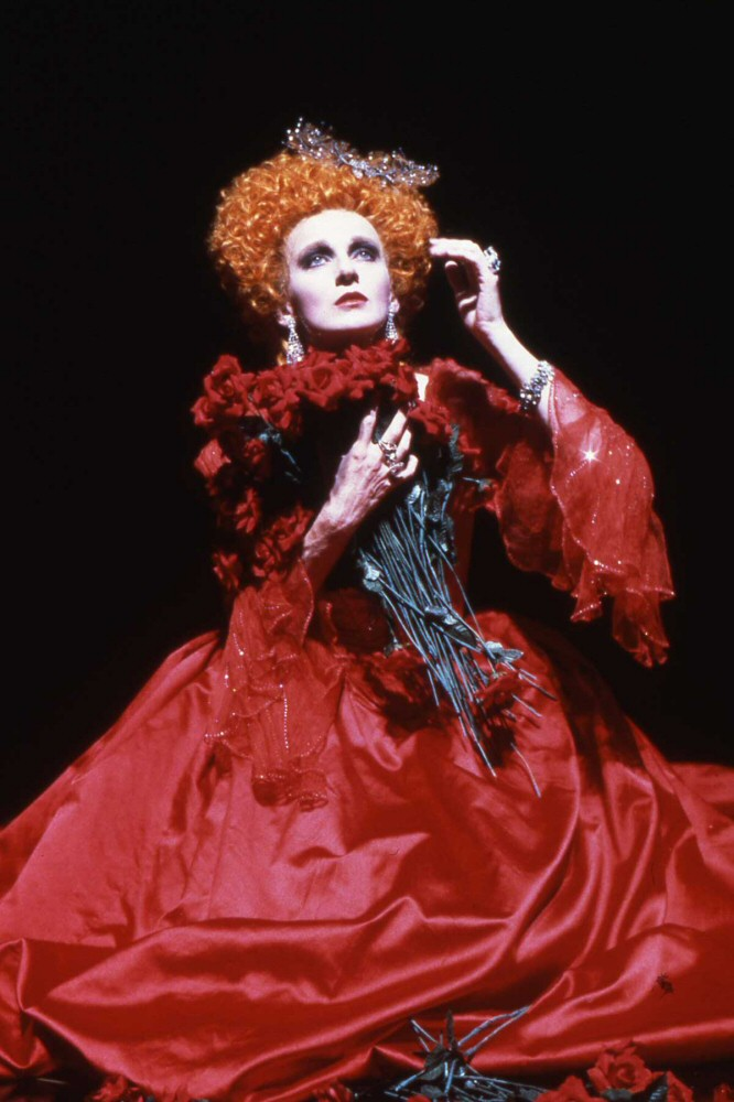 Caroline Lagerfelt as Arsinoe in The Misanthrope, Guthrie Theater, 1987. Director: Garland Wright. Dramaturg: Mark Bly. Photo: courtesy of the Guthrie Theater