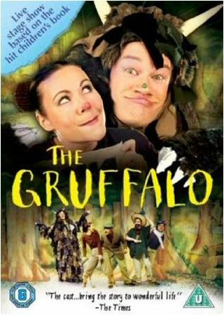 2004 dvd cover of the film of Tall Stories' theatre adaptation of The Gruffalo.