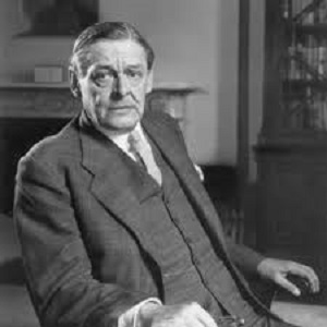 "T.S. Eliot [T.S. Eliot wrote about about the ""unification of sensibility"" that characterized the Elizabethans, as opposed to the ""dissociation of sensibility"" that came later.]"