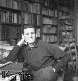JAN KOTT [Jan Kott, the writer of the influential study Shakespeare Our Contemporary.]