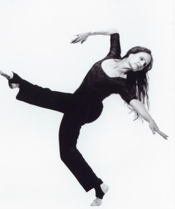 Marnie Thomas Wood. New York studio photo, mid-2000s. Wood Collection