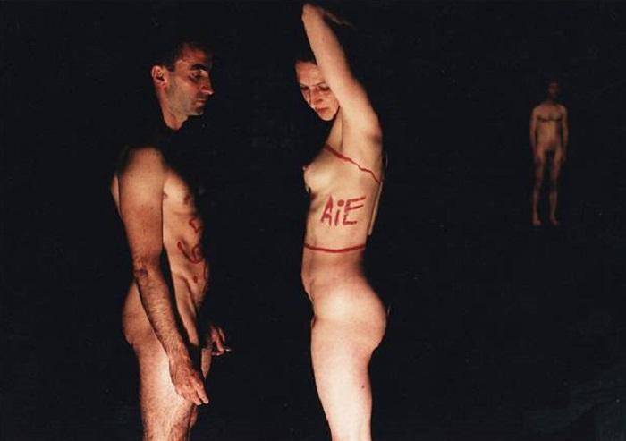 Jérôme Bel, 1995. Photo: Herman Sorgeloos