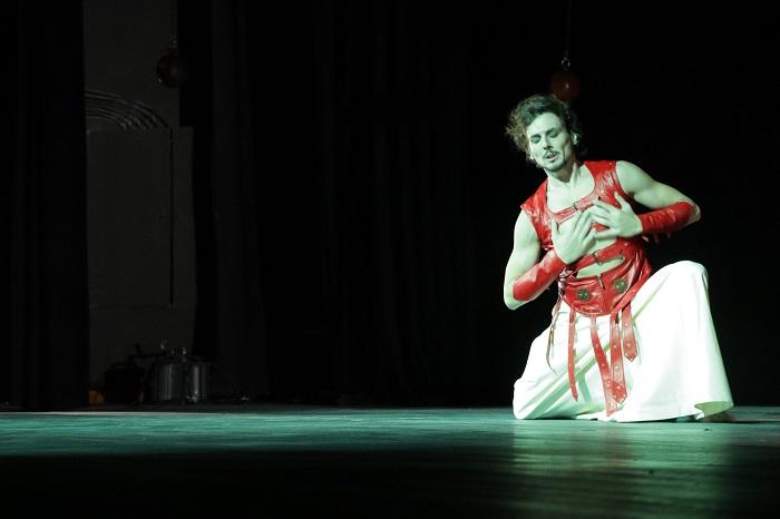 Dancer Nuri Akran in Rumination. Photo: Fujairah International Arts Festival