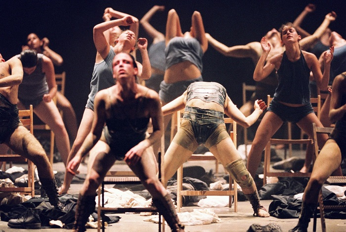 From the film Mr. Gaga on Ohad Saharan, artistic leader of Batsheva Company, Israel.