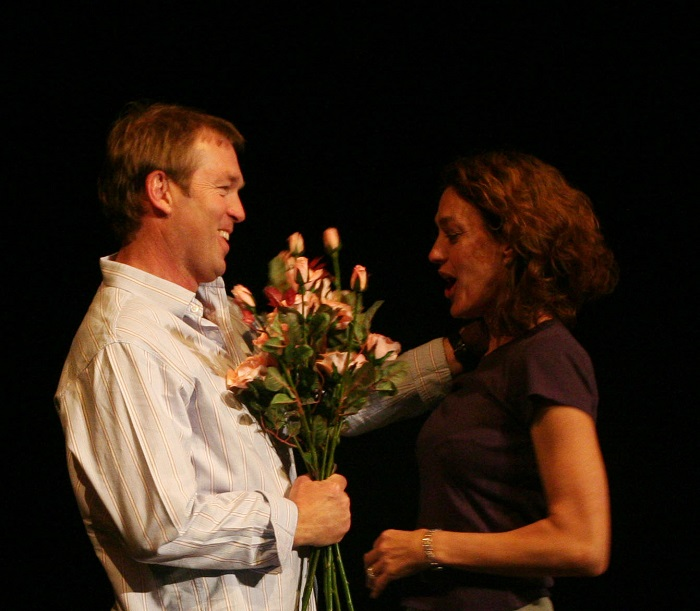 Two to Tango. Selected as a finalist in the NLDTF/PANSA Festival of Reading of New Writing (Comedy); premiered at the Liberty Theatre on the Square, April 2006. Photo: Courtesy of Mike van Graan