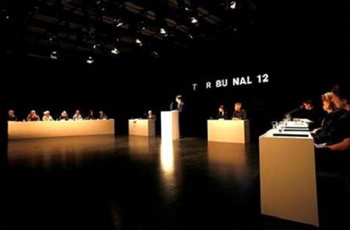Tribunal 12, Kulturhuset, Stockholm, May 12, 2012. Photo: Kristina Wicksell/Kickpix