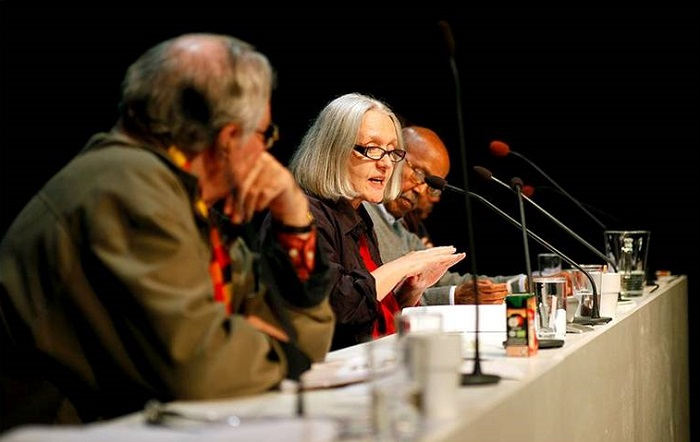 Jury Members Saskia Sassen and Nurrudin Farrah. Photo: Kristina Wicksell/Kickpix