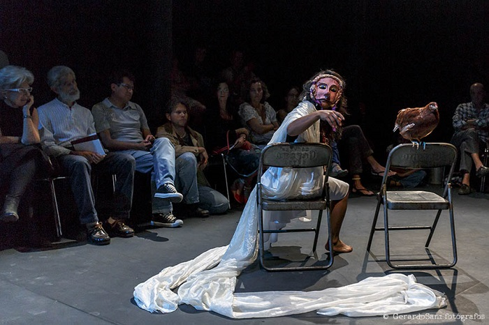 La Bruja - Mónica del Carmen. Foto de Gerardo Sanz