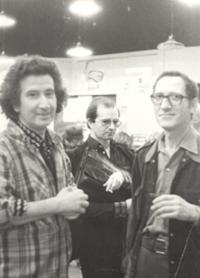 13 Boal with Émile Copfermann,first editor of the Teatro do Oprimido (Theatre of the Oppressed) in France (Ed. Maspero), Paris, 1978 © Augusto Boal Archive UNIRIO