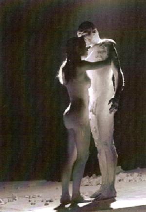 La fugitive, mise en scène de Jean-Yves Lazennec, 1996 © Enguerrand