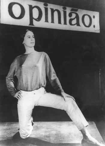 3 Maria Bethânia in Show Opinião (Opinion Show), São Paulo, 1965 © Augusto Boal Archive UNIRIO