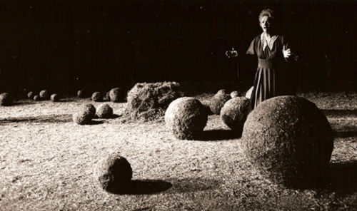 La passion du jardinier, mise en scène de Pierre-Etienne Haymann, 1989 © Claude Bricage