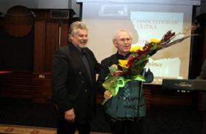 Stefan Danailov (Minister of Culture of Bulgaria) et Jean-Pierre Sarrazac à Sofia