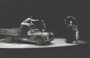 21 Erendira, adapted from Gabriel García Márquez's novel and directed by Boal, Théâtre de L'Est Parisien, Paris, 1983 @ Jacques Gayard (Courtesy of Augusto Boal Archive UNIRIO)