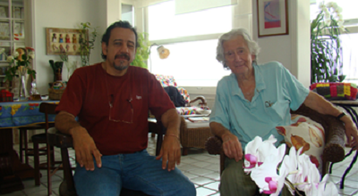 Zeca Ligiéro and Augusto Boal © Fabian Boal