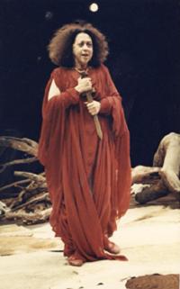 25 Fernanda Montenegro in Fedra, by Racine, Rio de Janeiro1986 © Claudia Ferreira (Courtesy of Augusto Boal Archive UNIRIO)