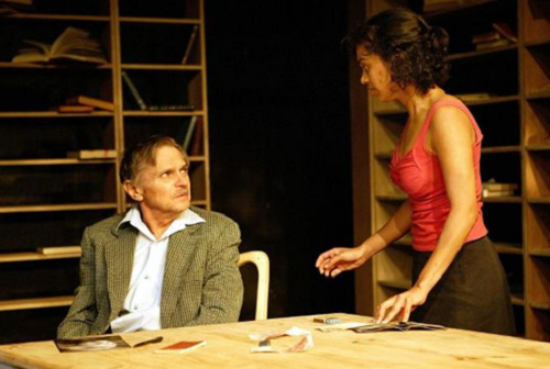 Ameera Patel and Cobus Rossouw in Victory © Courtesy of the Baxter Theatre