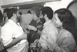 27 Boal with Lula © Jorge Nunes (Courtesy of Augusto Boal Archive UNIRIO)