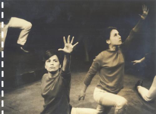 4 Marilia Medalha and Dina Sfat in Arena conta Zumbi (Arena tells Zumbi), São Paulo, 1965 © Augusto Boal Archive UNIRIO