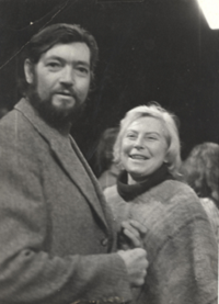 18 Julio Cortázar after seeing the performance directed by Augusto Boal © Augusto Boal Archive UNIRIO