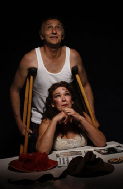 Michael Maxwell and Dorothy Ann Gould in Hello and Goodbye © Courtesy of the Baxter Theatre