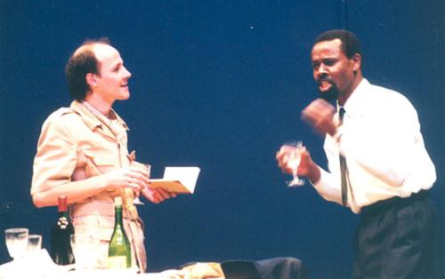 Jorge Silva and Daniel Martinho in Uma lição dos aloés, 1996 © Courtesy of Teatro dos Aloés