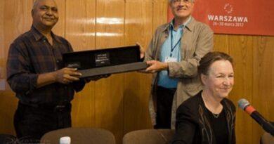 Kapila Vatsyayan and the IATC Thalia Prize