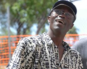 Adams Kwateh, critique théâtral, journaliste à France-Antilles, Martinique © D.R.