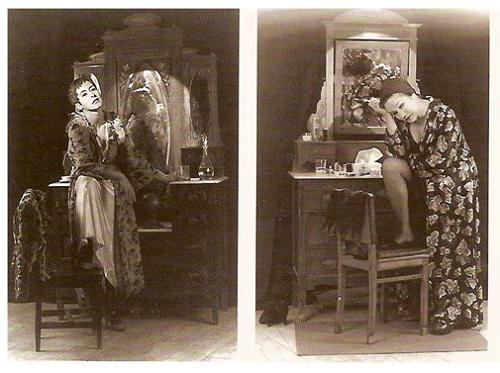 Maria João Luís, Márcia Breia, in Antes que a noite venha, Teatro da Cornucópia 1992