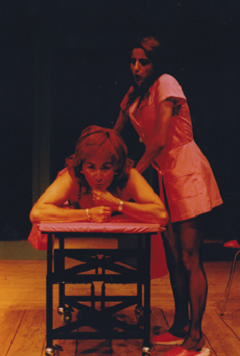 Cucha Carvalheiro, Marta Lapa, in Novos confessionários, Escola de Mulheres, 2001 Rui Pedro Pinto