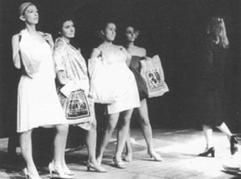 Felutes - upbeat, mise en scène de Erzsébet Gaál.