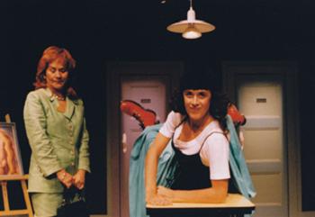 Cucha Carvalheiro, Cristina Carvalhal, in Novos confessionários, Escola de Mulheres, 2001 Rui Pedro Pinto
