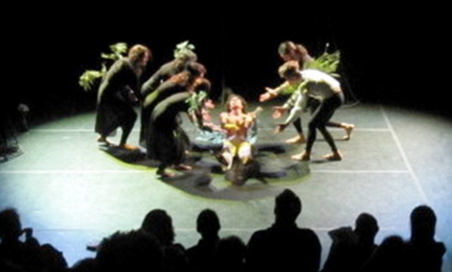 Director: Slobodan Dan Paich, Company: Artship Ensemble, Production: Tender Stone, Venue: CounterPULSE, San Francisco, Date of the premiere: May 6, 2010, Photographer: Julia Lazar
